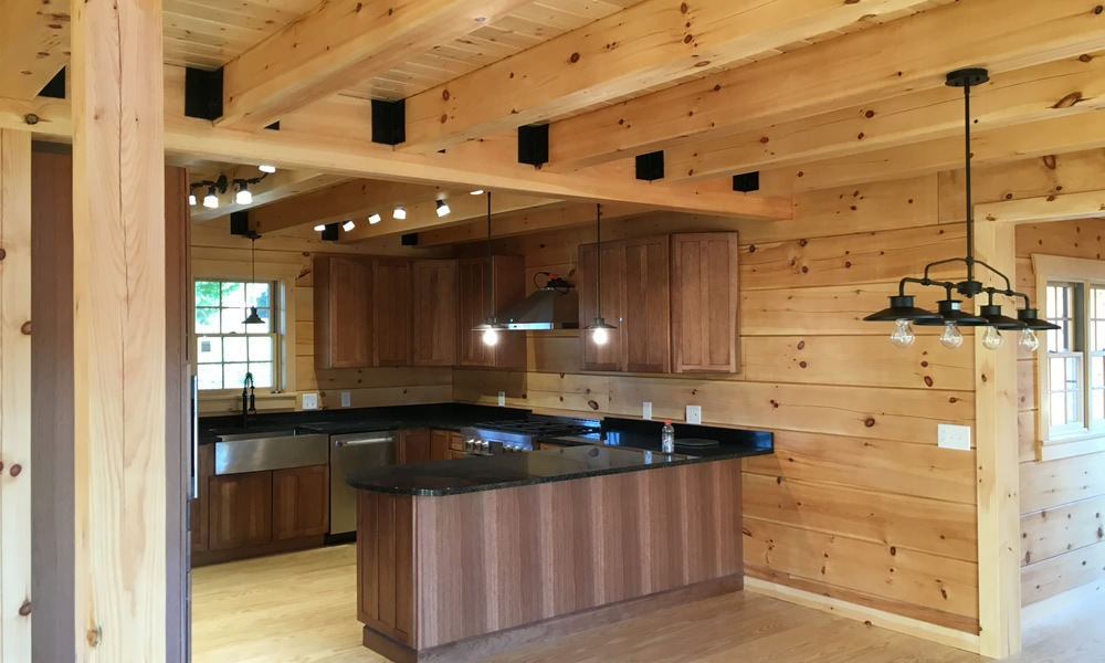 Upstate New York Log Home Builders