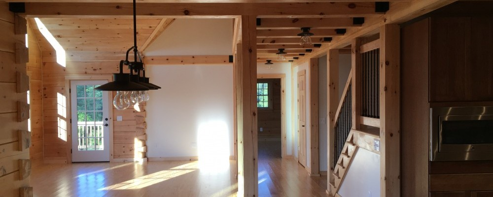 Albany New York Log Homes